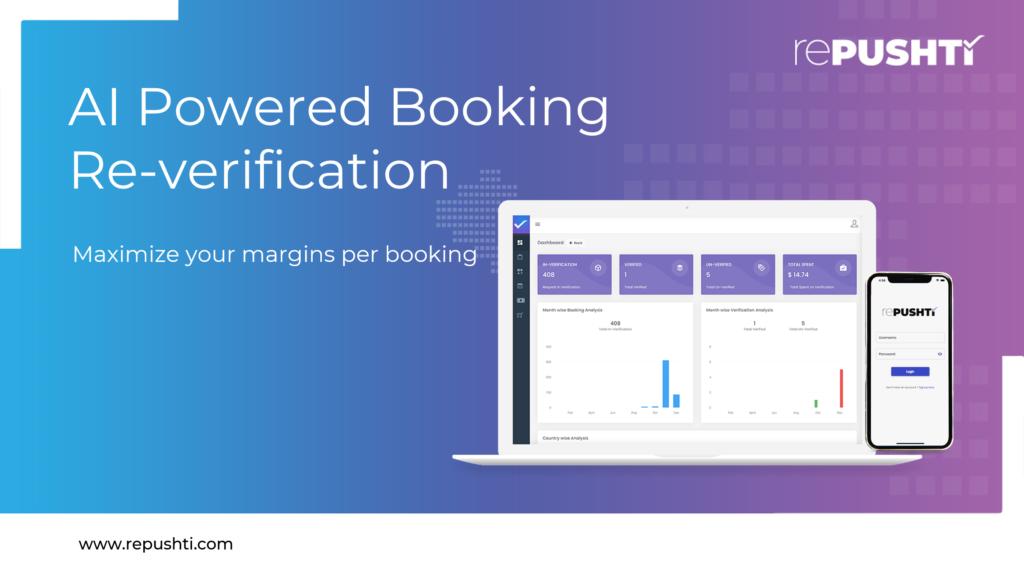 rePushti - Booking verification platform